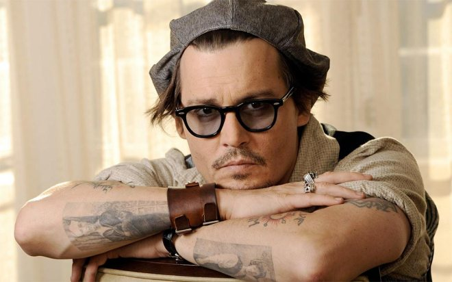 Johnny Depp Tattos