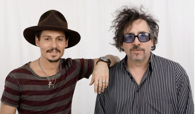 Johnny Depp und Tim Burton