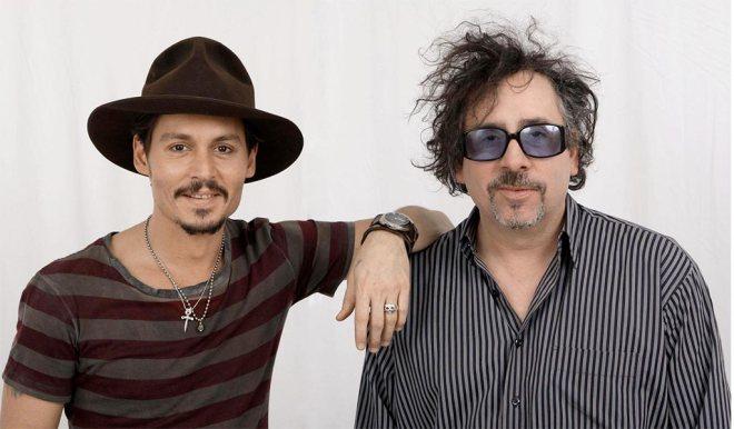 Johnny Depp und Tim Burton