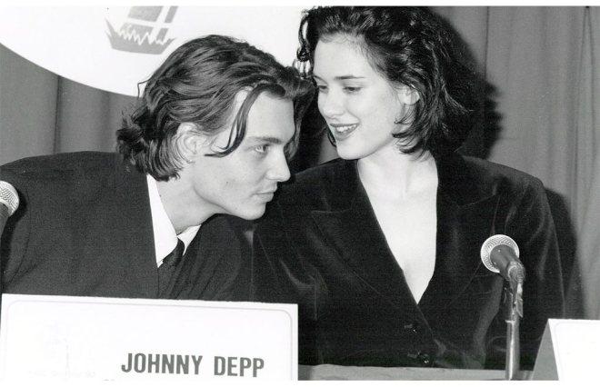 Johnny Depp und Winona Ryder